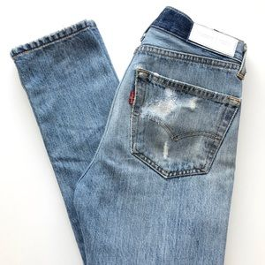 Re/Done Levi's Skinny Straight Jeans